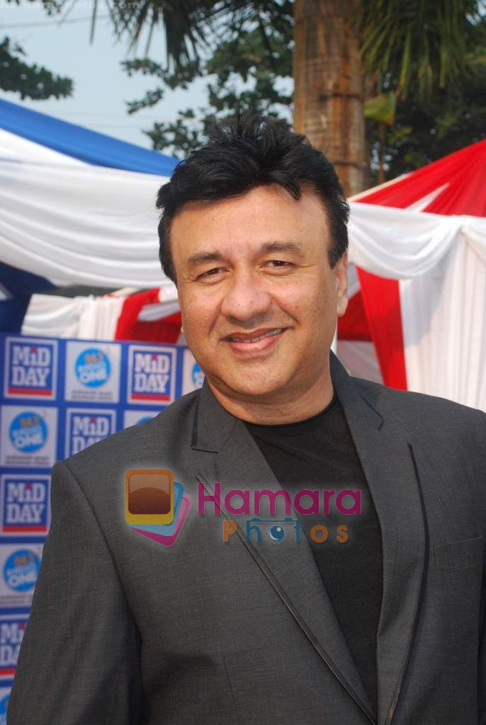 Anu Malik at Mid-day race in Mahalaxmi Race Course on 26th Dec 2010