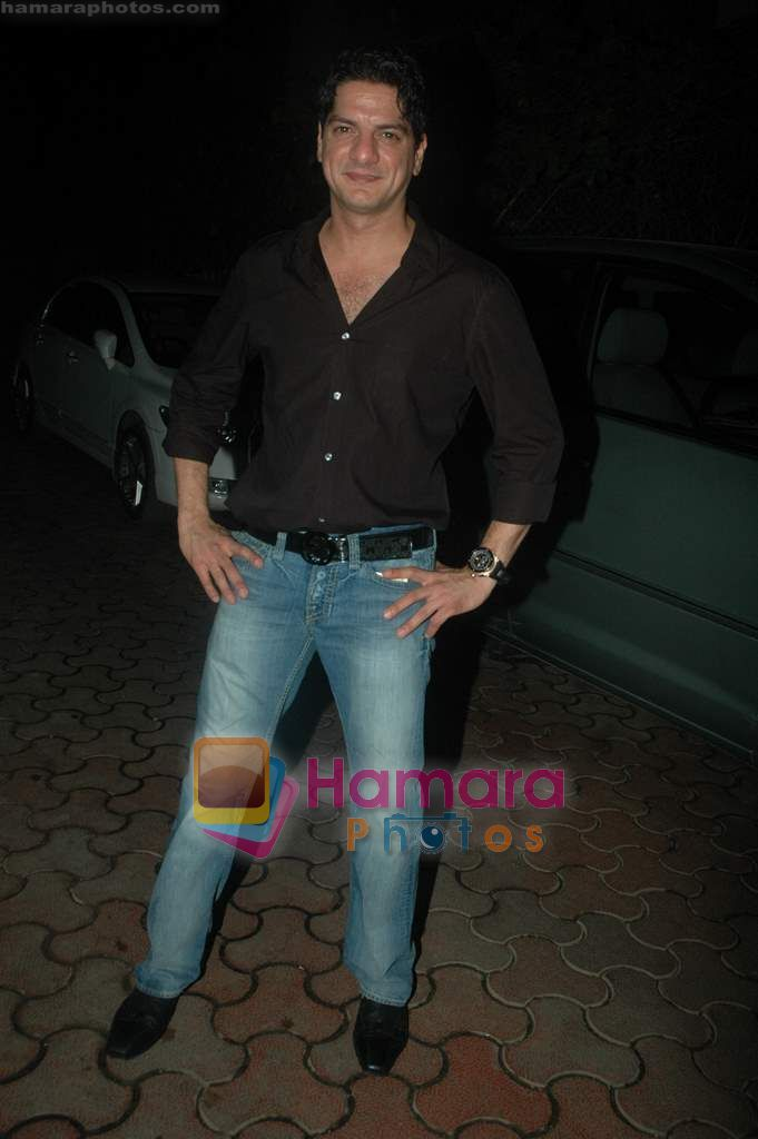 at Farah Ali Khan's bday bash in Juhu on 27th Dec 2010