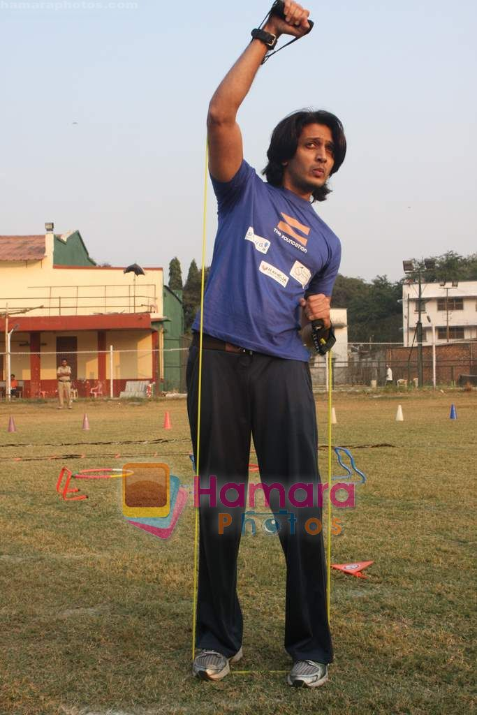 Ritesh Deshmukh grace The Foundation event in Santacruz on 27th Dec 2010