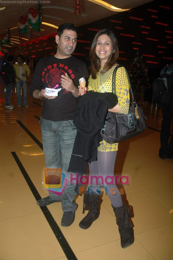 Kishwar Merchant at Isi Life Mein special screening in Cinemax on 27th Dec 2010
