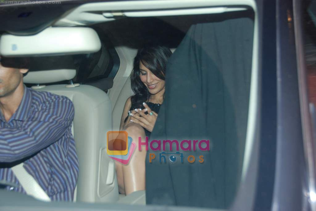 sophie at Farah Ali Khan's bday bash in Juhu on 27th Dec 2010