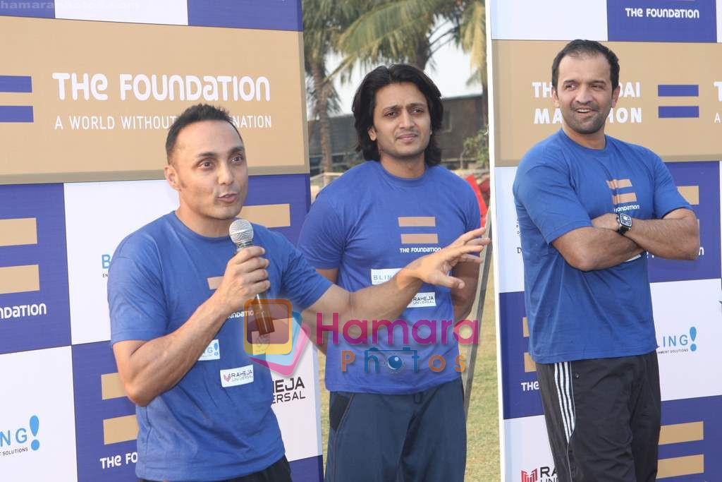 Ritesh Deshmukh and Rahul Bose grace The Foundation event in Santacruz on 27th Dec 2010