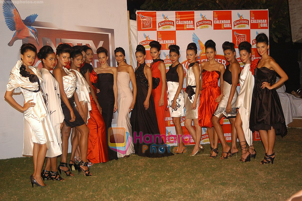 Deepika Padukone at THE GRAND FINALE of the Hunt for Kingfisher Calendar Girl 2011  ~0