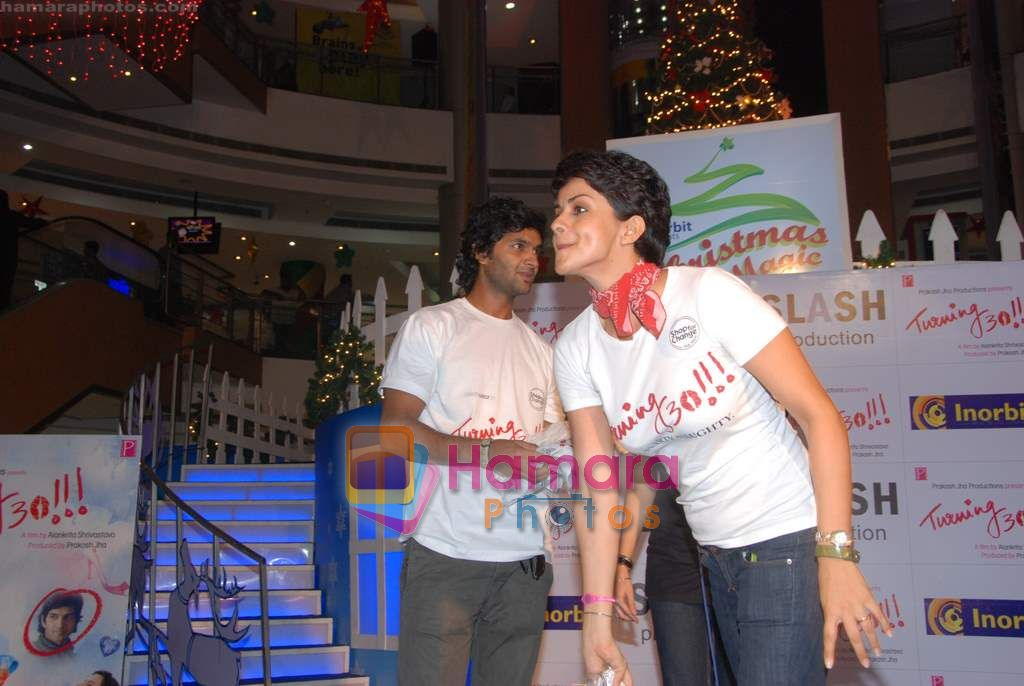 Gul Panag, Purab Kohli at Turning 30 promotional event in Inorbit Mall on 28th Dec 2010
