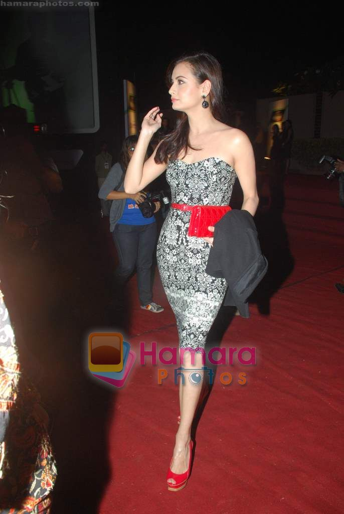 Dia Mirza at Overdrive Awards in Taj Land's End on 4th Jan 2011