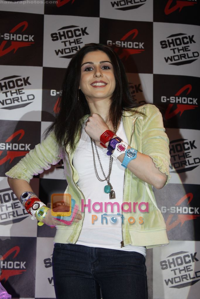at the launch of latest G-shock watch in Taj, Colaba, Mumbai on 12th Jan 2011