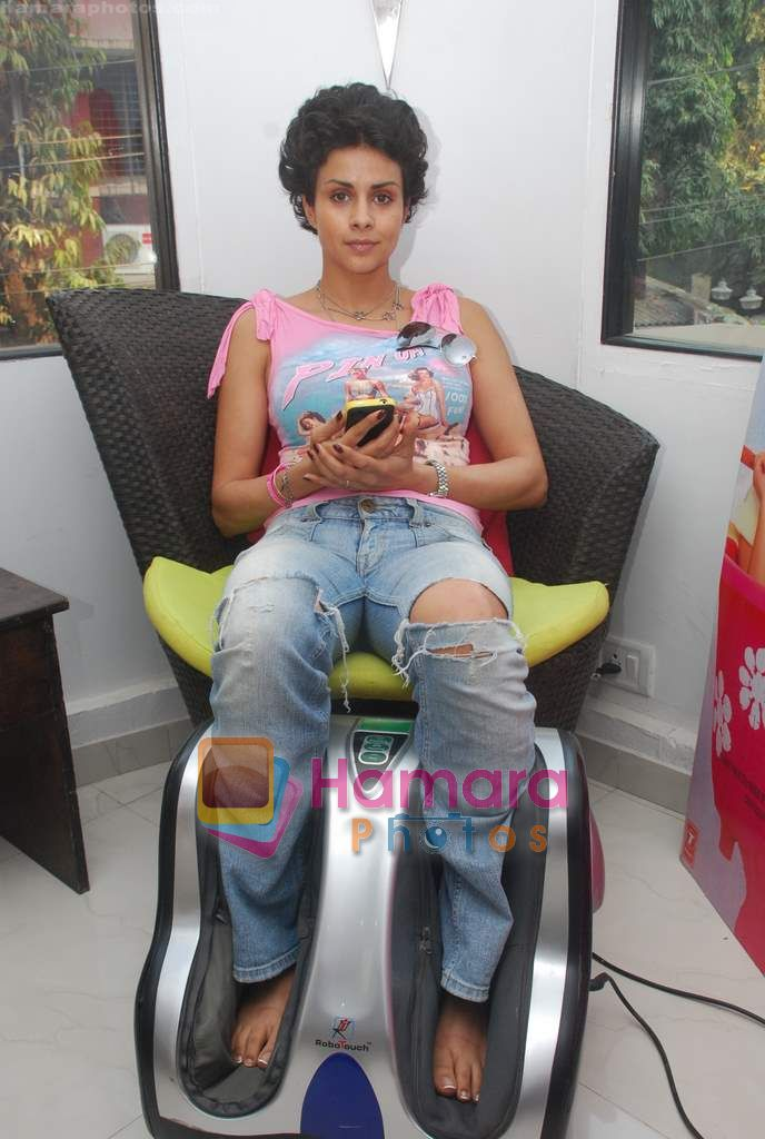 Gul Panag promote Turning 30 in a spa at Bandra, Mumbai on 12th Jan 2011