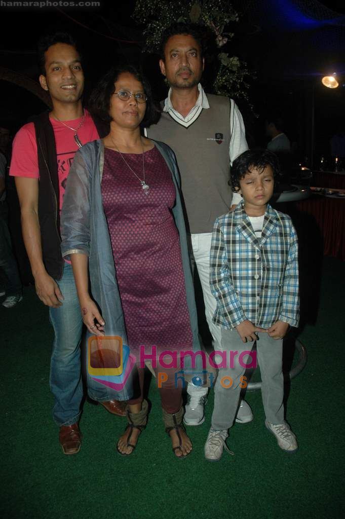 Irrfan Khan at Tere Mere Phere film launch in Dockyard on 12th Jan 2011