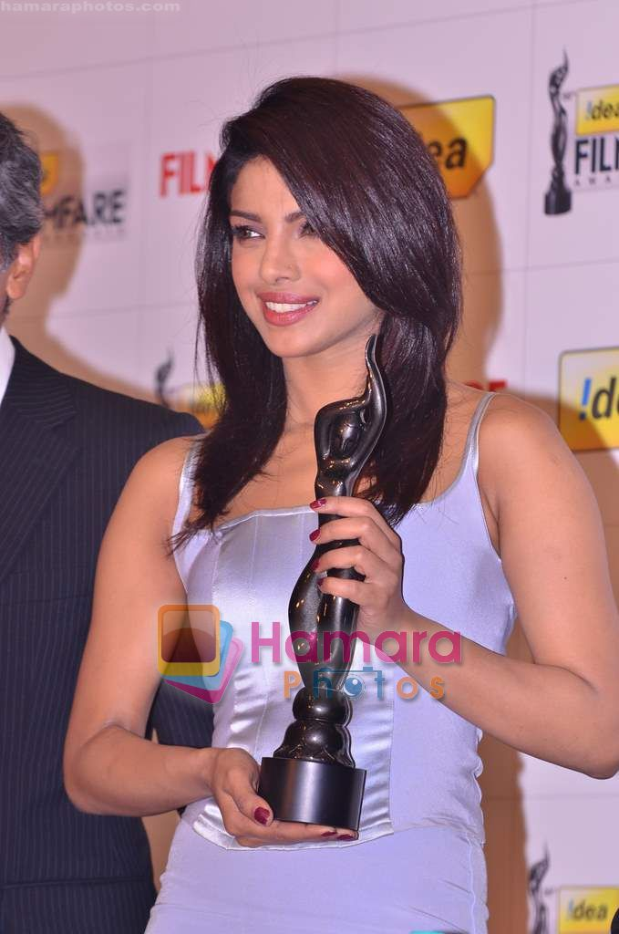 Priyanka Chopra at the Filmfare Awards press meet in J W Marriott on 13th Jan 2011