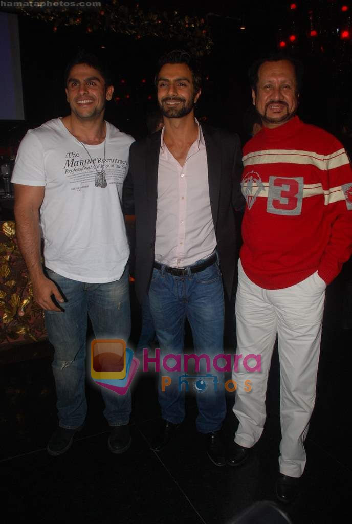 Rahul Bhatt at Ashmit Patel's birthday bash in Veda on 13th Jan 2011