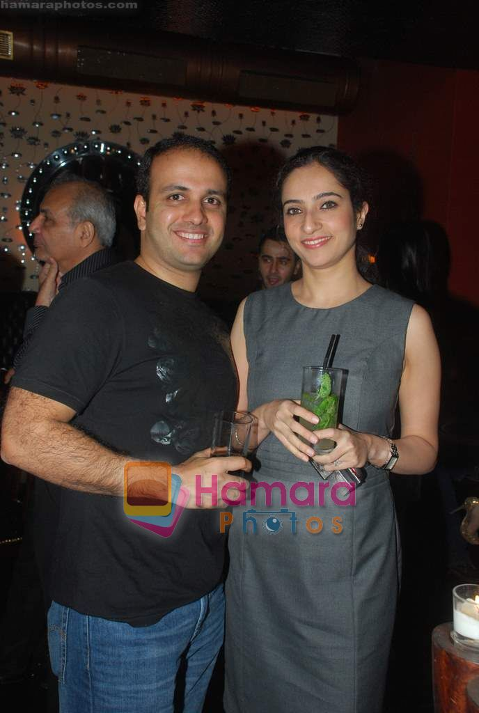 at Ashmit Patel's birthday bash in Veda on 13th Jan 2011
