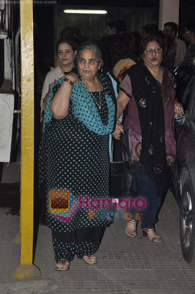 Salma Khan at Yamla Pagla Deewana screening by Rumi Jaffrey in Ketnav, Mumbai on 13th Jan 2011
