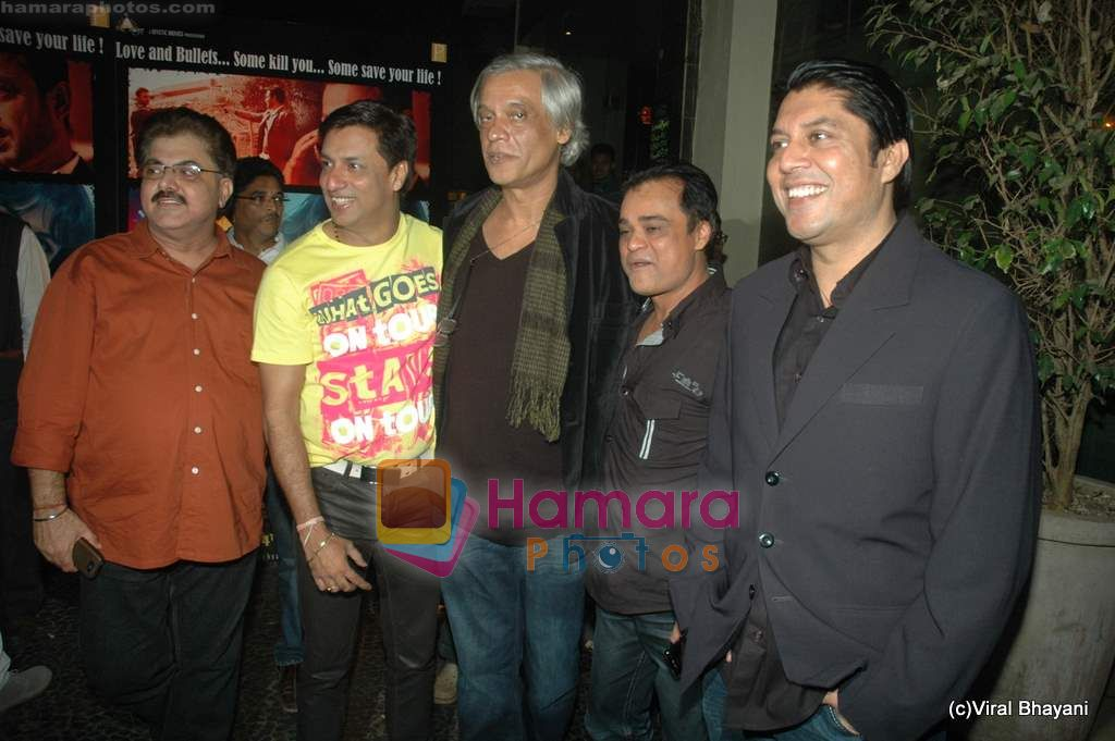 Madhur Bhandarkar, Sudhir Mishra at Yeh Saali Zindagi music launch in Marimba Lounge on 13th Jan 2011