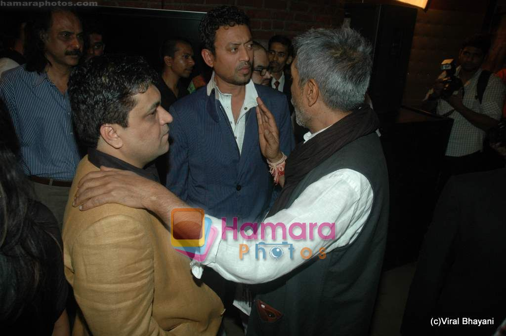 Irrfan Khan at Yeh Saali Zindagi music launch in Marimba Lounge on 13th Jan 2011