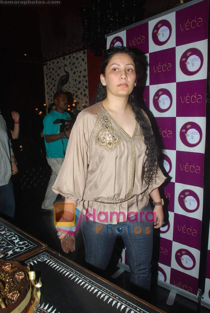 Manyata Dutt at Ashmit Patel's birthday bash in Veda on 13th Jan 2011