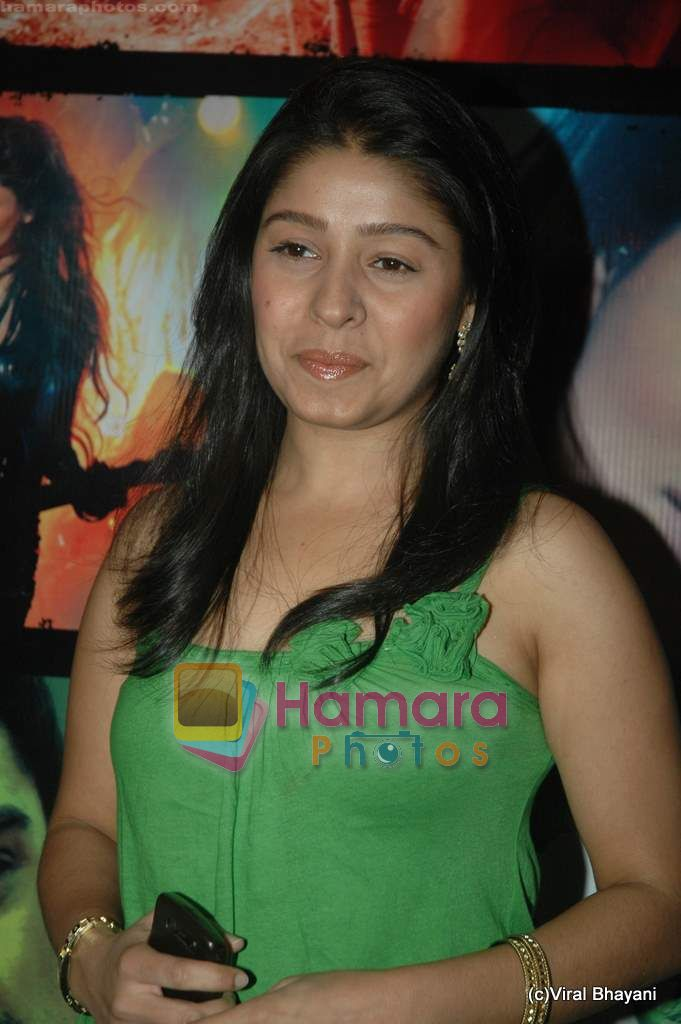 Sunidhi Chauhan at Yeh Saali Zindagi music launch in Marimba Lounge on 13th Jan 2011