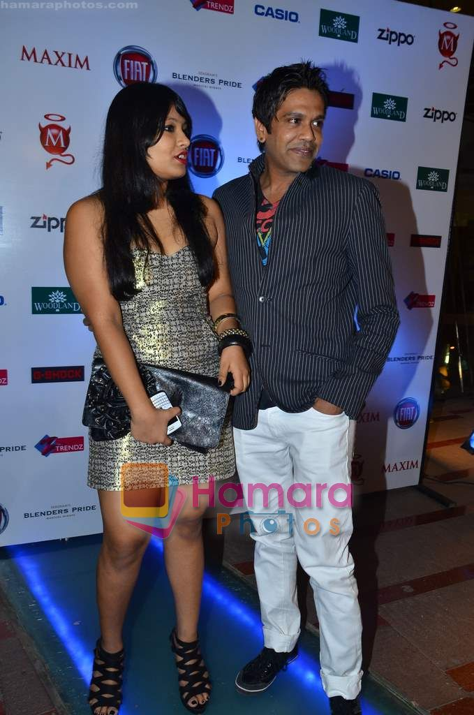 Rocky S at the Maxim cover launch in Hype on 13th Jan 2011