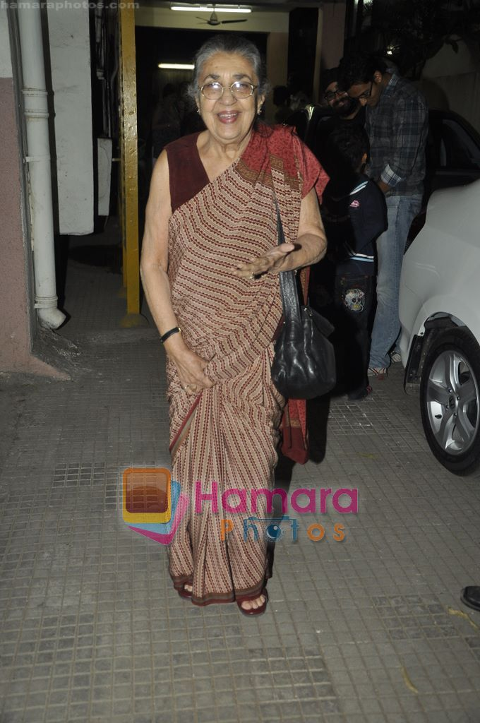 Shammi at Yamla Pagla Deewana screening by Rumi Jaffrey in Ketnav, Mumbai on 13th Jan 2011