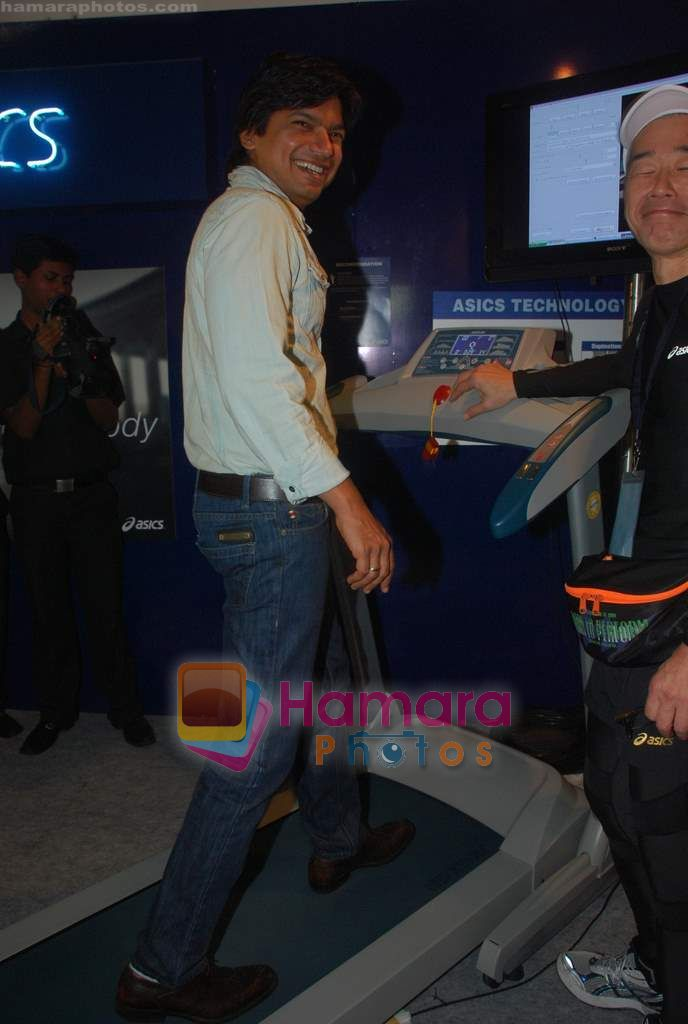 Shaan promote Mumbai Marathon in Trident on 13th Jan 2011
