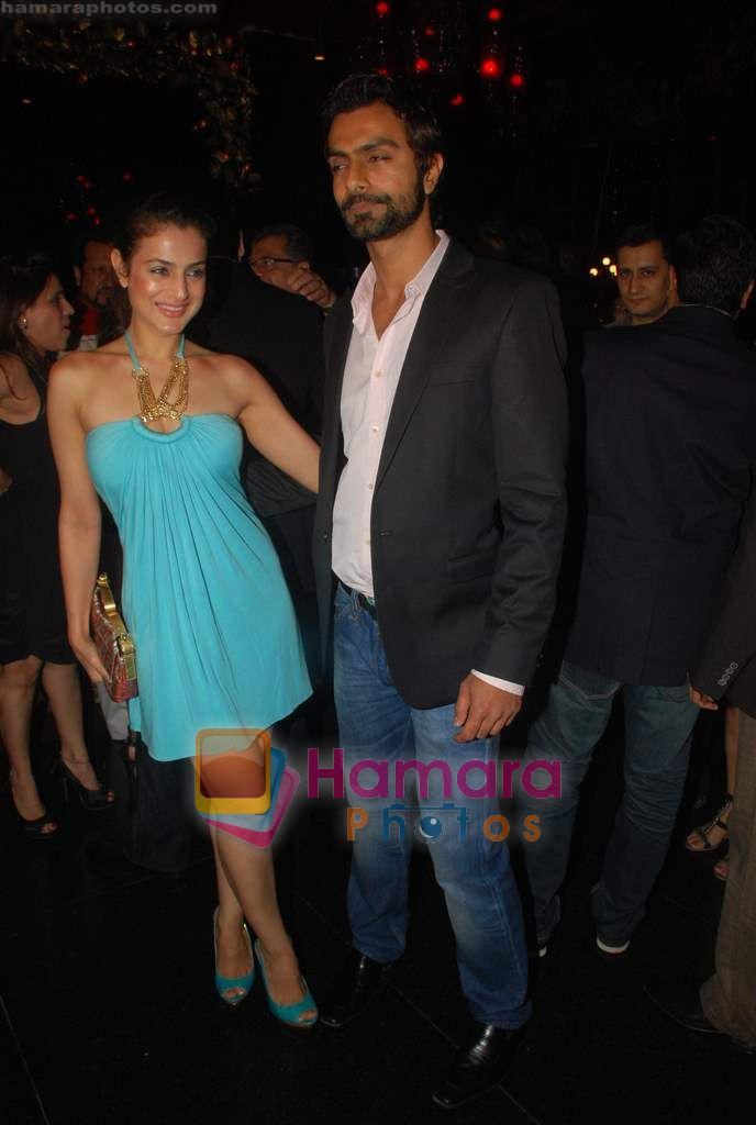 Amisha Patel, Ashmit Patel at Ashmit Patel's birthday bash in Veda on 13th Jan 2011