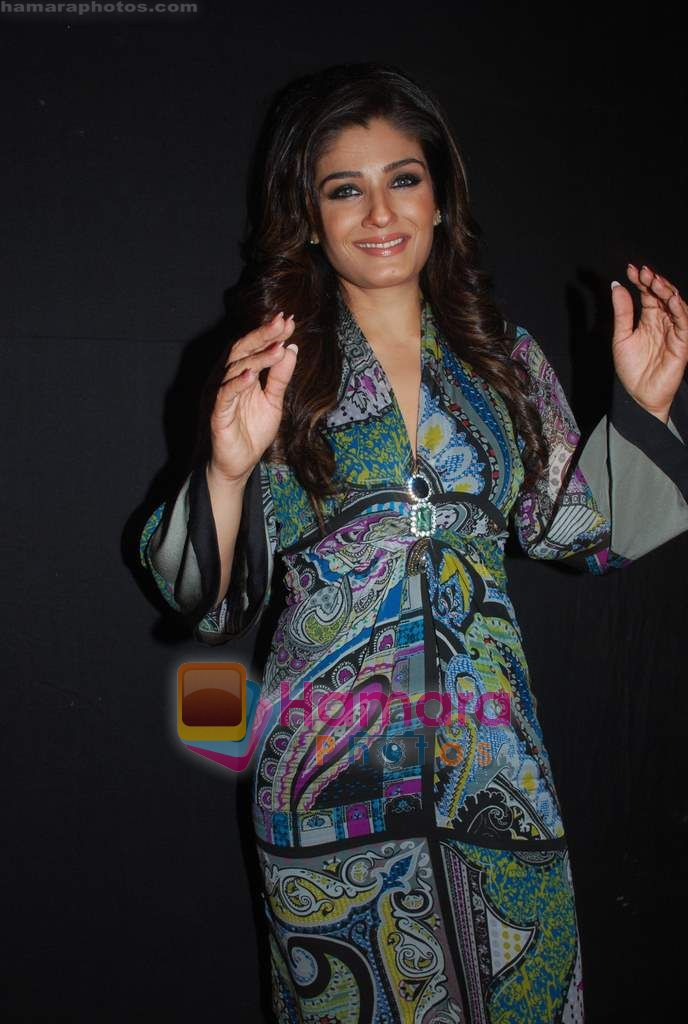 Raveena Tandon at Day 1 of Chivas Studiio in Mahalaxmi Race Course on 14th Jan 2011