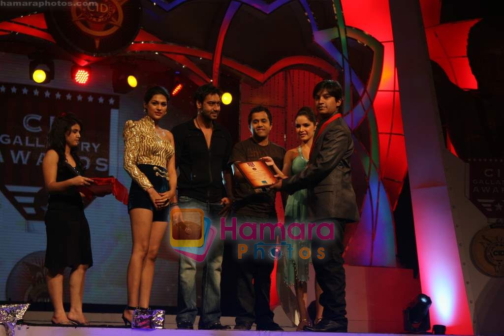 Ajay Devgan at CID Gallantry Awards in Chitrakoot Ground on 14th Jan 2011