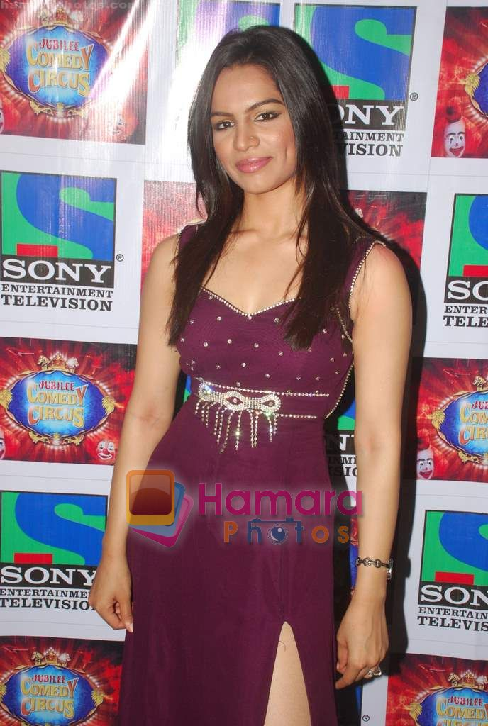 Shikha Singh on the sets of Comedy Circus in Mohan Studios on 14th March 2011