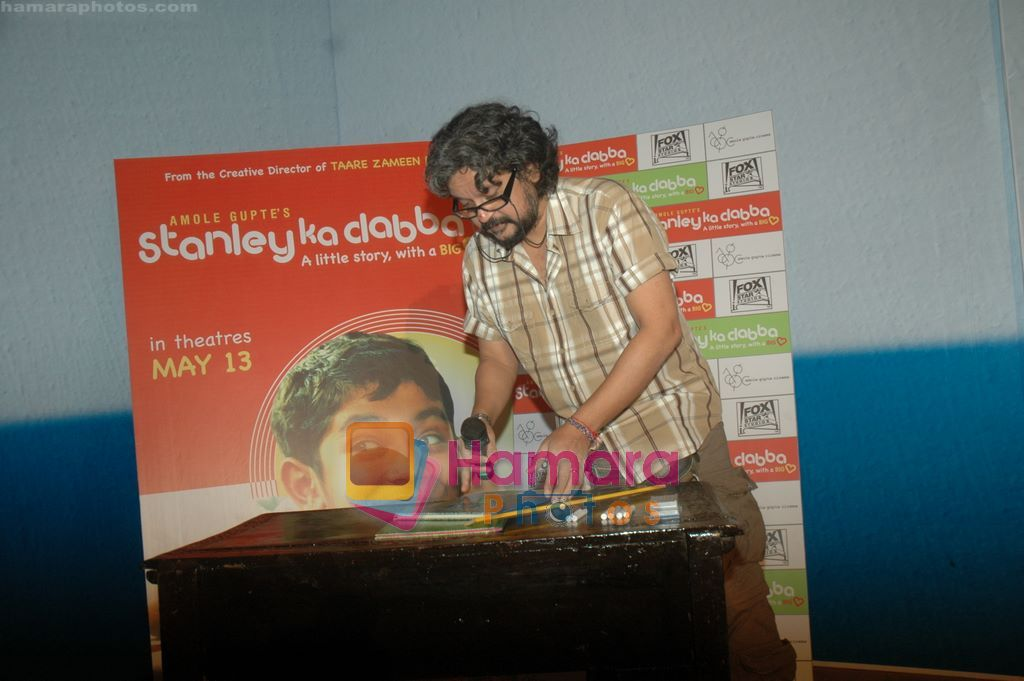Amole Gupte at the launch of Amole Gupte's Stanley ka Dabba in Menboob,  Mumbai on 6th April 2011