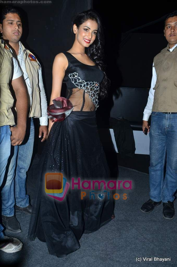 Sonal Chauhan at Wills Lifestyle India Fashion Week 2011-Day 4 in Delhi on 9th April 2011
