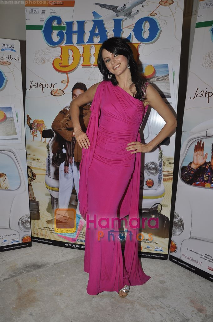 Yana Gupta promote Chalo Dilli in Mhboob Studio, Mumbai on 9th April 2011