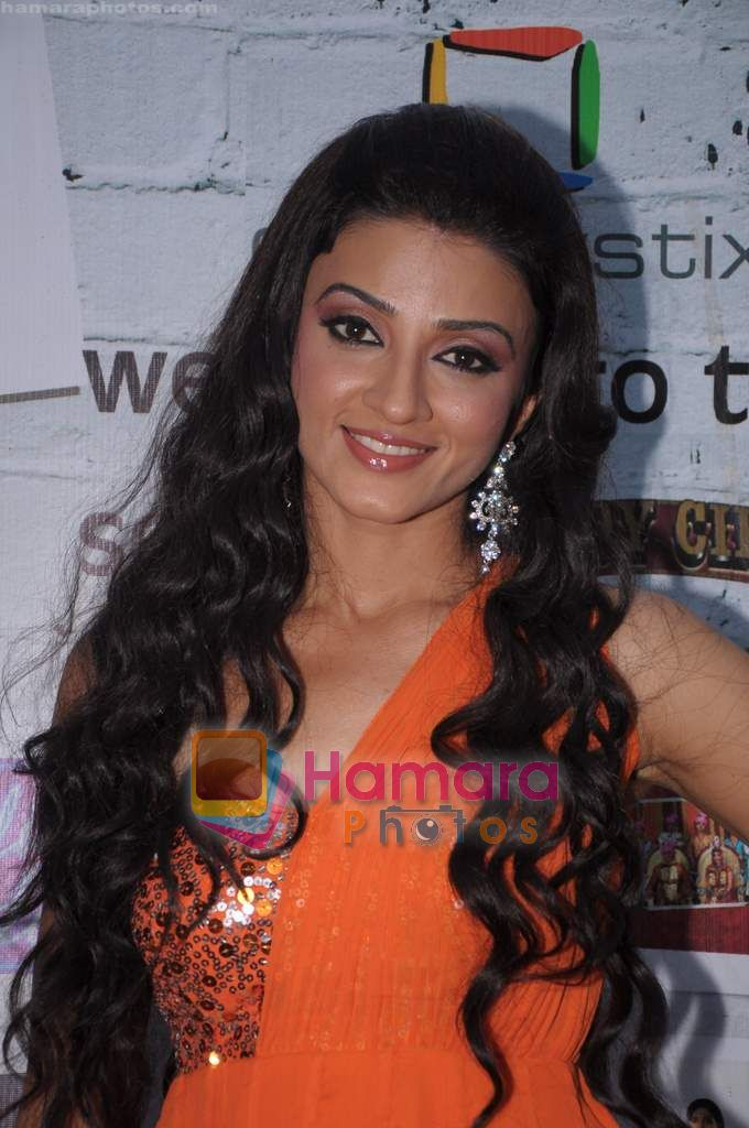 Suhasi Dhami on the sets of Comedy Circus in Mohan Studio on 31st May 2011