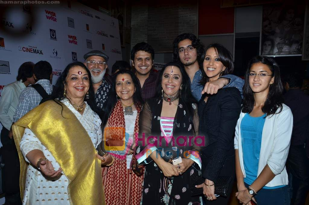 Ila Arun, Ishita Arun at West is West premiere in Cinemax on 8th June 2011
