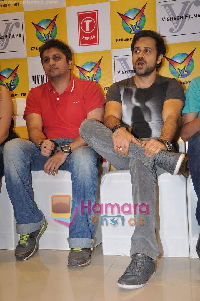 Mohit Suri, Emraan Hashmi at Murder 2 music launch in Planet M on 10th June 2011