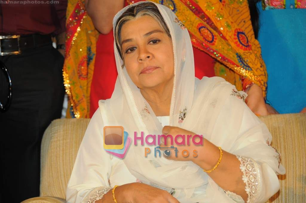 Farida Jalal at SAB TV launches Ammaji Ki Galli in J W Marriott on 15th June 2011