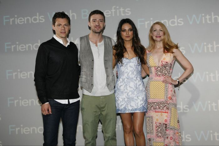 Mila Kunis And Justin Timberlake Friends With Benefits