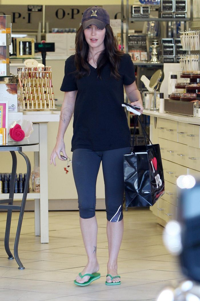 Megan Fox Snapped while Shopping at the Planet Beauty, Los Angeles on 15 July 2011