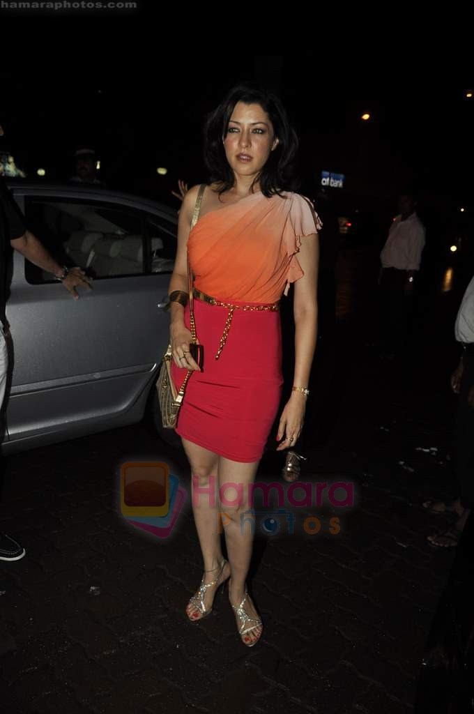 Aditi Gowitrikar at Arpita Khan's birthday bash in Aurus on 29th July 2011