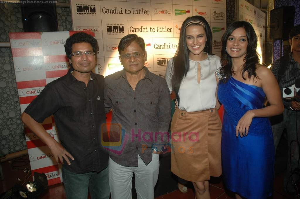 Neha Dhupia at Gandhi to Hitler premiere in Cinemax on 28th July 2011