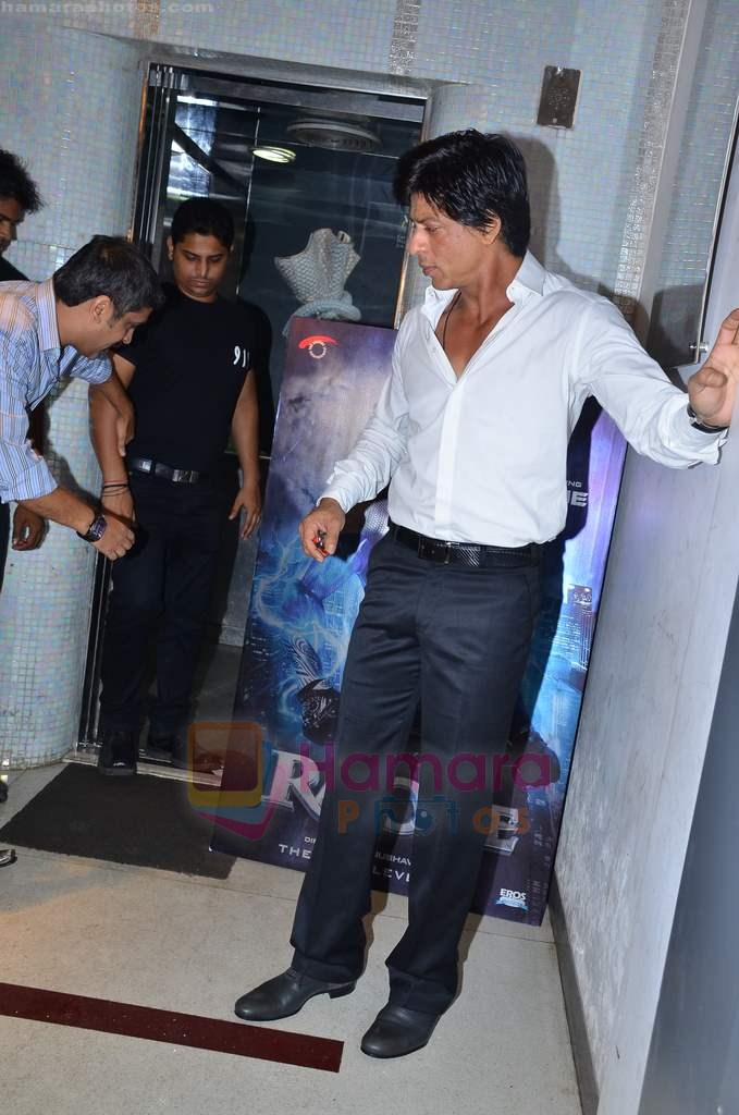 Shahrukh Khan at Ra One Completion bash in Esco Bar on 31st July 2011