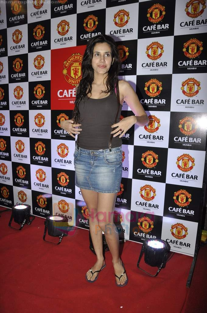 at Manchester United Cafe launch in Malad on 31st July 2011