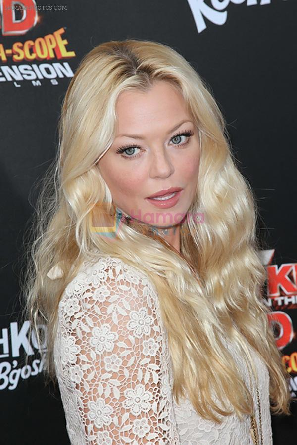 Charlotte Ross arrives at the Spy Kids- All The Time In The World 4D Los Angeles Premiere on July 31, 2011 in Los Angeles, California