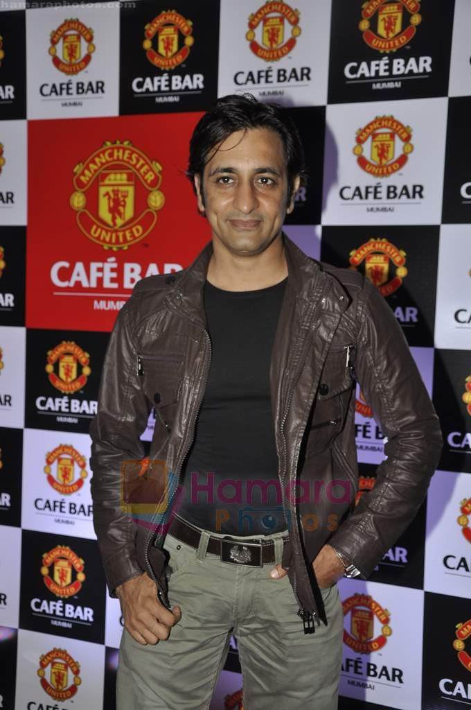 Rajiv Paul at Manchester United Cafe launch in Malad on 31st July 2011