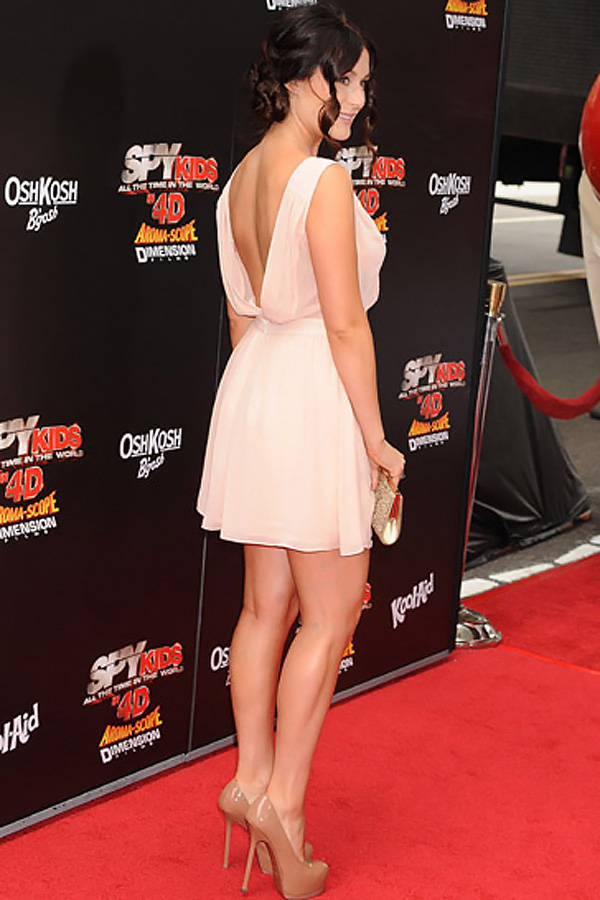 Alexa Vega arrives at the Spy Kids- All The Time In The World 4D Los Angeles Premiere on July 31, 2011 in Los Angeles, California