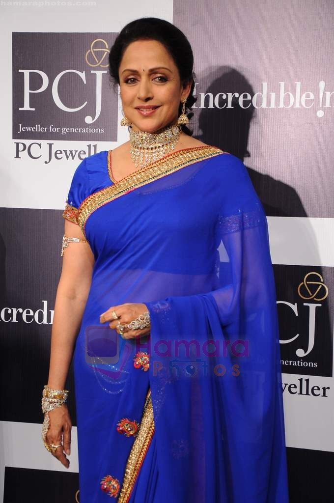 Hema Malini on day 2 of IIJW 2011 in Grand Hyatt on 1st Aug 2011