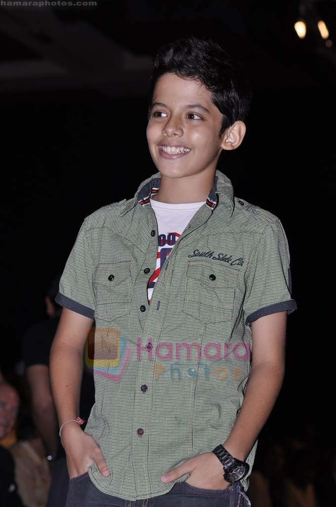 Darsheel Safary on day 2 of IIJW 2011 in Grand Hyatt on 1st Aug 2011