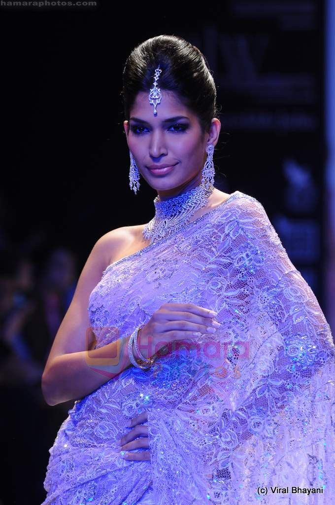Model walks the ramp for International Gemological Institute show at IIJW 2011 Day 2 in Grand Hyatt on 1st Aug 2011