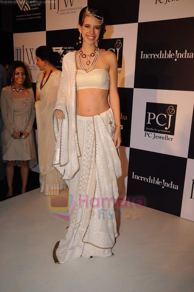 Kalki Koechlin on day 2 of IIJW 2011 in Grand Hyatt on 1st Aug 2011