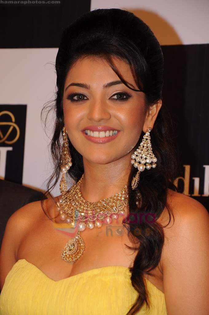 Kajal Aggarwal on day 2 of IIJW 2011 in Grand Hyatt on 1st Aug 2011