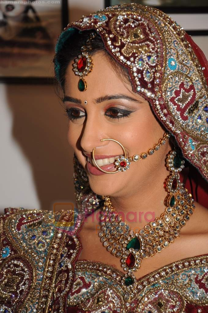Deepika Samson on the sets of Sasural Simar Ka on 1st Aug 2011