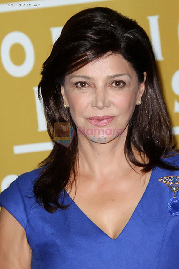Shohreh Aghdashloo attends the 2011 Hollywood Foreign Press Association Annual Installation Luncheon in Beverly Hills Hotel, CA on 4th August 2011